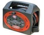 Faithfull Easy Cable Reel 230v 15m 13a 4 Socket